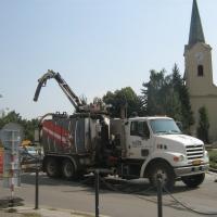 Čištění kanalizace