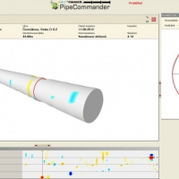 Revize, vytyčování trasy trubních vedení v terénu, posouzení, vyhodnocení stavu inženýrských sítí ve 3D