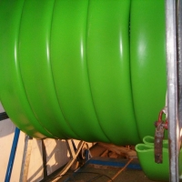 OMEGA LINER – osazení plastového kopolymeru do stávajících trubních vedení